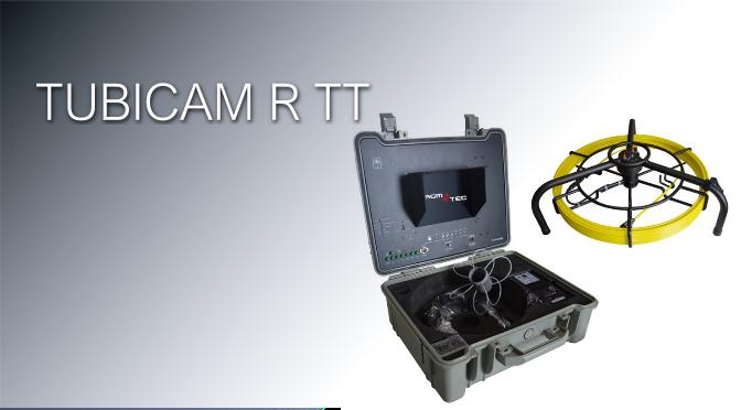 Nueva TUBICAM R TT - Cámara para inspección de tuberías