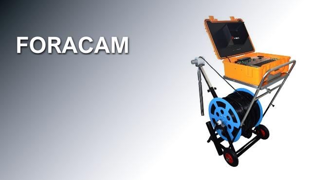 Boroscopio FORACAM - Cámara para inspección vertical en pozos y perforaciones