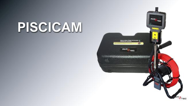 Boroscopio PISCICAM - Cámara para inspección de tuberías de piscinas