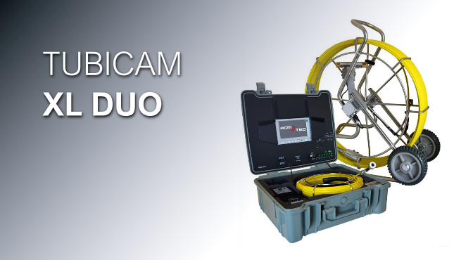 Boroscopio TUBICAM XL DUO - Cámara para inspección de tuberías