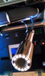 El boroscopio es la nueva herramieta de trabajo del fontanero