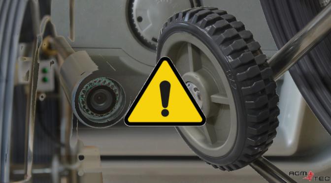 Seguridad en el uso de cámaras inspección tuberías