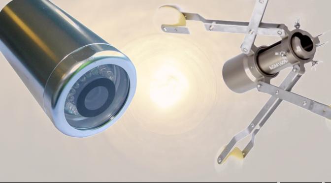 Tipos de centrador de cabezal para inspección tuberías con cámara cctv