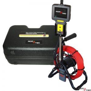 Boroscopio para la inspección de instalaciones de piscinas