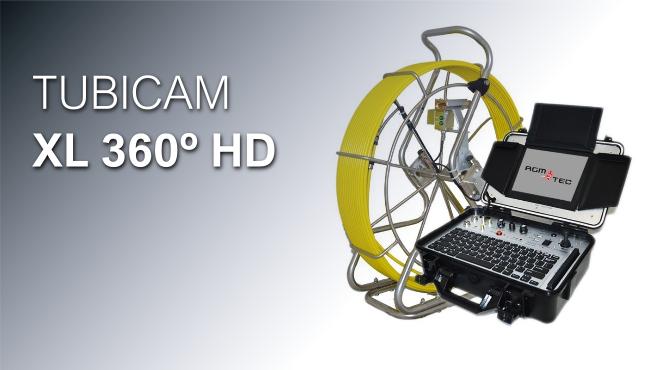 Boroscopio TUBICAM XL 360º HD - Cámara para inspección de tuberías